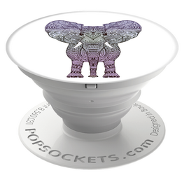PopSockets Original PopGrip, Elephant, slon - zvìtšit obrázek