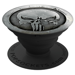 PopSockets Original PopGrip, MARVEL Punisher Monochrome