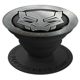 PopSockets Original PopGrip, MARVEL Black Panther Monochrome