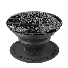 PopSockets Original PopGrip, STAR WARS Aluminum Death Star, hliníkový