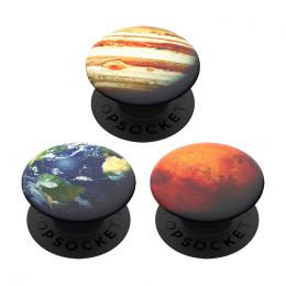 PopSockets PopMinis Out of this World, Zem, Mars, Jupiter, 3 mini PopSockety