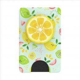 PopSockets PopWallet  Fruit Salad, pouzdro na karty/vizitky apod.   PopGrip Gen.2