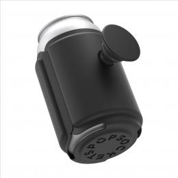 PopSockets PopThirst, držák/obal na plechovku, s integrovaným PopGrip Gen. 2, èerný