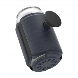 PopSockets PopThirst, držák/obal na plechovku, s integrovaným PopGrip Gen. 2, tmavì modrý melanž