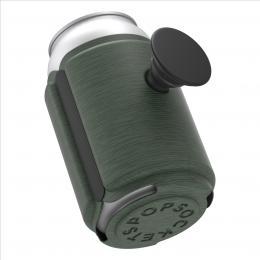 PopSockets PopThirst, držák/obal na plechovku, s integrovaným PopGrip Gen. 2, tmavì zelený melanž - zvìtšit obrázek
