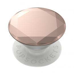 PopSockets PopGrip Gen.2, Metalic Diamond Rose Gold, 3D diamant rùžové zlato, hliníkový - zvìtšit obrázek