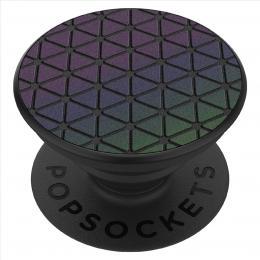 PopSockets PopGrip Gen.2, Reflective Chromatic Grid, reflexní povrch