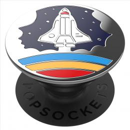 PopSockets PopGrip Gen.2, Enamel Space Shuttle Navy, raketa, smaltovaný povrch