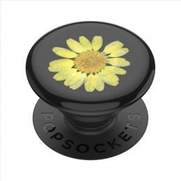 PopSockets PopGrip Gen.2, Pressed Flower Yellow Daisy, žlutý kvítek zalitý v pryskyøici - zvìtšit obrázek