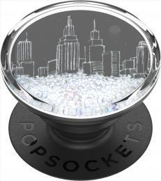 PopSockets PopGrip Gen.2, Tidepool Snowglobe Cityscape, velkomìsto v tekutinì se snìhem - zvìtšit obrázek