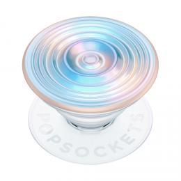 PopSockets PopGrip Gen.2, Ripple Opalescent Blue, opalizující, 3D bílo-modravý