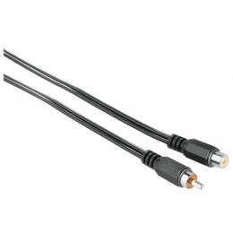 Hama audio Extension Cable 1 RCA (phono) Plug - 1 RCA (phono) Socket, 2.5 m