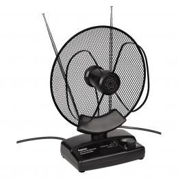 Detail produktu - Hama aktivní pokojová anténa VHF/UHF/FM, 36dB