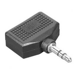 Hama rozdvojka jack 3,5 mm vidlice - 2x jack 3,5 mm zásuvka, stereo, sáèek