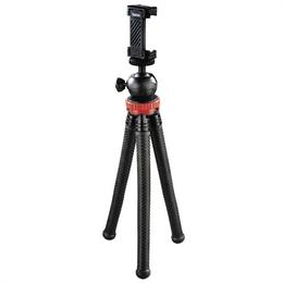 Hama stativ  FlexPro 3v1  pro fotoaparáty, GoPro kamery a smartphone, 27 cm, èervený, krabièka