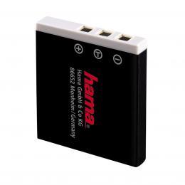 Detail produktu - Hama fotoakumulátor Li-Ion 3.7V/ 700 mAh, typ Fuji NP-40, Pentax D-Li8