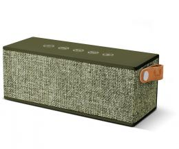 FRESH  N REBEL Rockbox Brick Fabriq Edition Bluetooth reproduktor, Army, vojenská zelená
