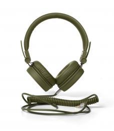FRESH  N REBEL Caps sluchátka, Army, vojenská zelená
