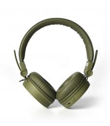 FRESH  N REBEL Caps Bluetooth sluchátka, Army, vojenská zelená