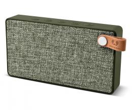 FRESH  N REBEL Rockbox Slice Fabriq Edition Bluetooth reproduktor, Army, vojenská zelená