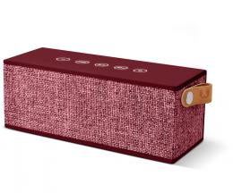 FRESH  N REBEL Rockbox Brick Fabriq Edition Bluetooth reproduktor, Ruby, rubínovì èervený