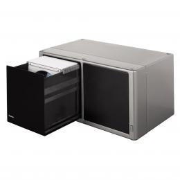 Detail produktu - Hama plastový CD box Magic Touch 120, stříbrný