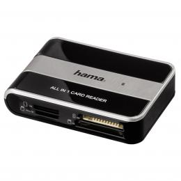 Detail produktu - Hama čtečka karet USB 2.0 All in 1