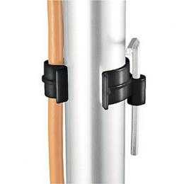 Detail produktu - Manfrotto 093 Držák kabelů u tyče, plastový roztahovací na prům. tyčí 28-40 mm - sada 4 ks