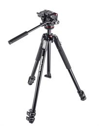 Detail produktu - Manfrotto MK 190X3-2W, SET stativu řady 190 a dvoucestné video hlavy XPRO-2, hliníkový třísekční