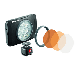 Manfrotto MLUMIEMU-BK, LED svìtlo LUMIE MUSE, LED light