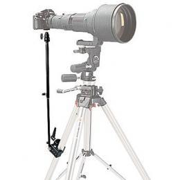 Manfrotto  359-1 Podpìra teleskopická pro kameru s teleobjektivem, uchycení na stativ a kameru