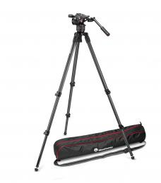 Manfrotto MVKN8C, KIT VIDEO NITROTECH N8 and 535 SINGLE LEG
