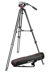 Detail produktu - Manfrotto MVK502AM-1, KIT VIDEO TELESCOPIC TWIN LEG s hlavou 502AM