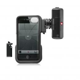 Detail produktu - Manfrotto MKL120KLYP0 iPhone case   ML120, stativový obal na iPhone 4/4S   LED světlo 120
