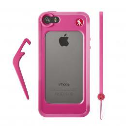 Detail produktu - Manfrotto MCKLYP5S-P, BUMPER pro iPhone 5/5s, barva růžová
