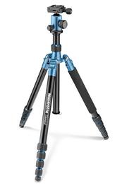 Detail produktu - Manfrotto MKELEB5BL-BH, stativ Element Traveller Big s kulovou hlavou, modro/černý, velký