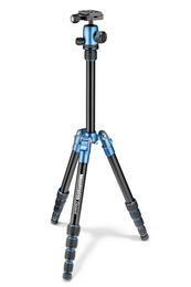 Manfrotto MKELES5BL-BH, stativ Element Traveller Small, modro/èerný, malý