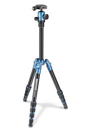 Detail produktu - Manfrotto MKELES5BL-BH, stativ Element Traveller Small, modro/černý, malý