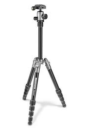Detail produktu - Manfrotto MKELES5GY-BH, stativ Element Traveller Small, šedo/černý, malý