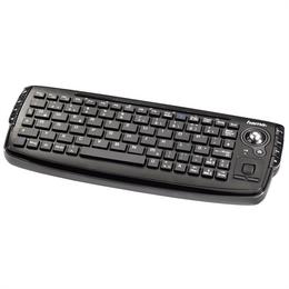 Hama uzzano bezdrátová kompaktní klávesnice s trackballem, èeský layout
