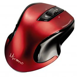 Hama Mirano bezdrátová laserová myš, èerveno-èerná, tichá