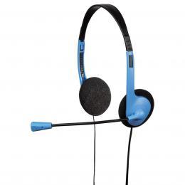 Hama PC Headset HS-101, èerná/modrá