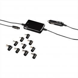 Hama univerzální napájecí zdroj pro notebook do auta, 15-19 V, 70 W