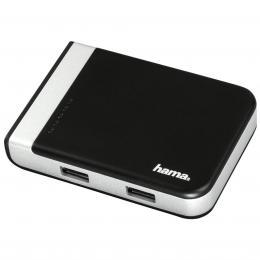 Hama USB 3.1 hub/èteèka karet s USB-C adaptérem