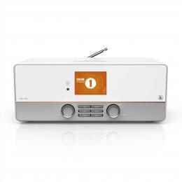Hama digitální a internetové rádio DIR3115MS, FM/DAB/DAB /Multiroom, ovládání aplikací, bílé