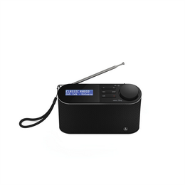 Hama digitální rádio DR15 FM/DAB/DAB , bateriové napájení