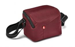 Detail produktu - Manfrotto MB NX-SB-IBX, NX Shoulder Bag CSC Bordeaux, brašna na rameno vínová
