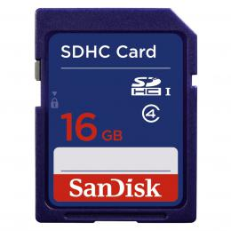 SanDisk Standardní SDHC Card 16 GB