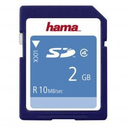 Detail produktu - Hama SD 2 GB CLASS 4 10 MB/s