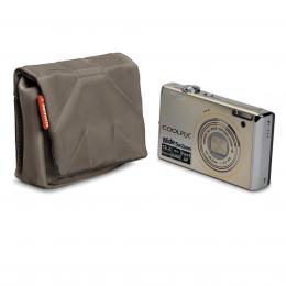 Detail produktu - Manfrotto STILE SCP-1BC NANO, pouzdro na kompaktní fotoaparát vel.1, olivově hnědá